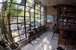 Gridded window panes